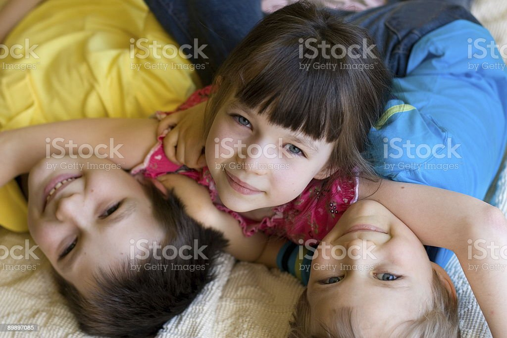 Beautiful Children royalty-free stock photo