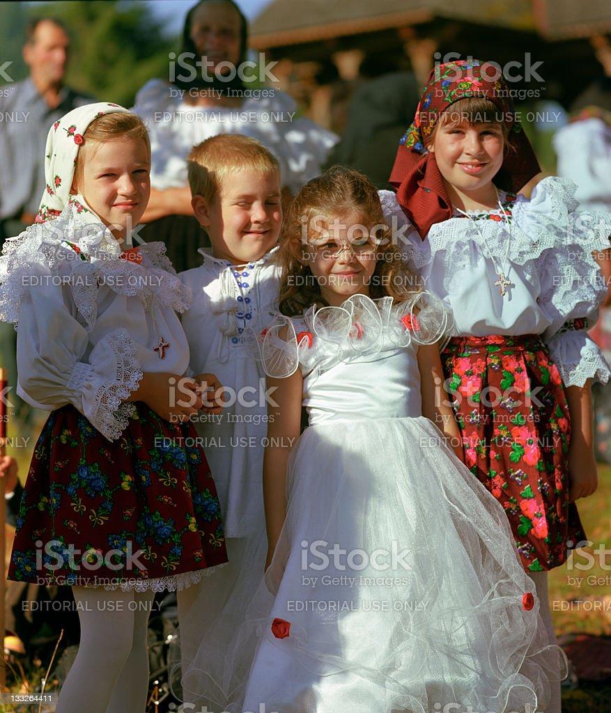 Belle enfants souriant - Photo