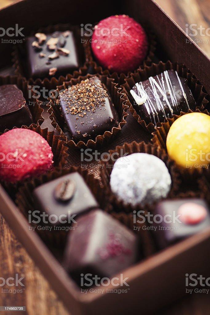 Beautiful chocolate royalty-free stock photo