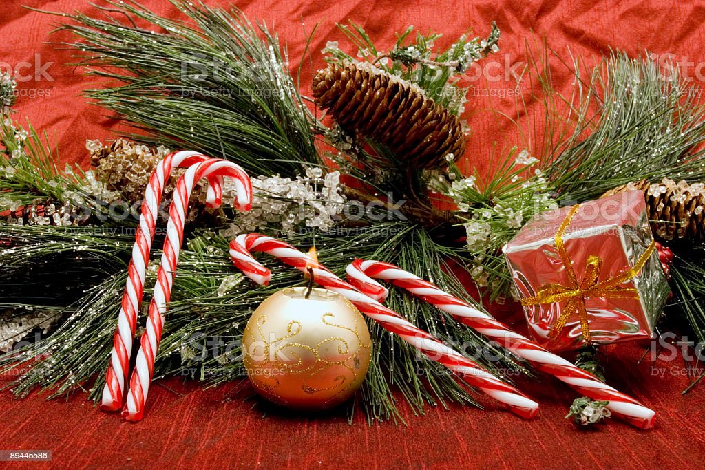 Beautiful Christmas decor royalty-free stock photo