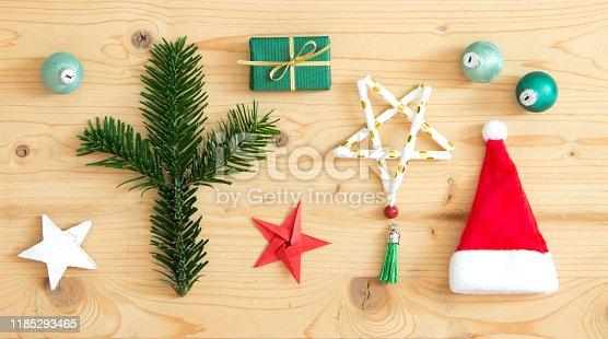 527392693 istock photo beautiful christmas flatlay 1185293465