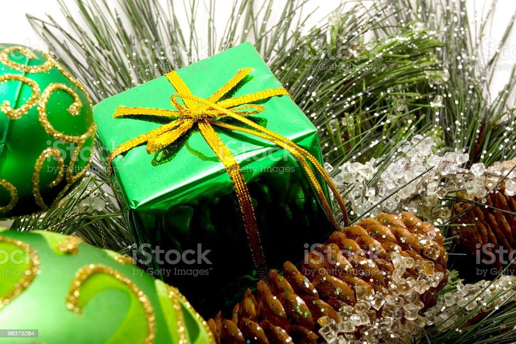Beautiful Christmas Ornaments royalty-free stock photo