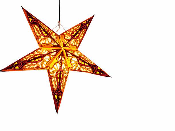 Beautiful Christmas Star stock photo