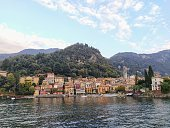 istock Beautiful city Varenna on Lake Como, Italy 1183735355
