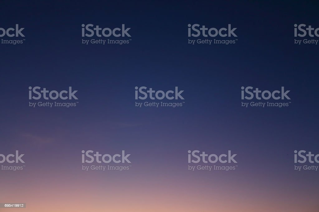 beautiful clear twilight night sky sunset background stock photo