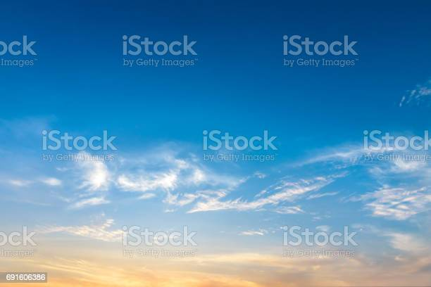 Photo of Beautiful cloud at sunset