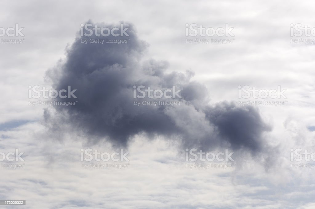 Beautiful cloud royalty-free stock photo