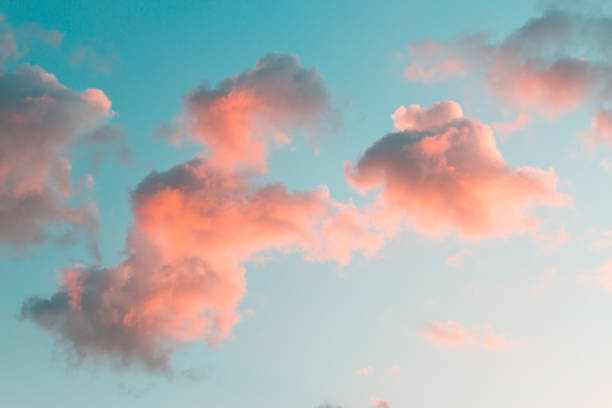 Beautiful clouds on the sky