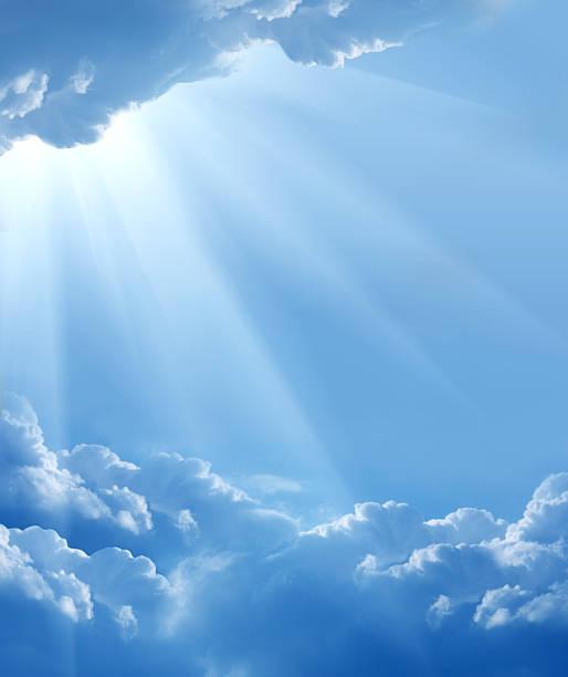 piękne chmury - bóg zdjęcia i obrazy z banku zdjęć