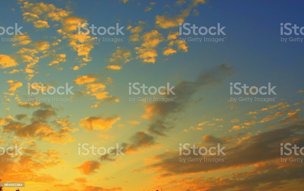 Beautiful clouds royalty-free stock photo