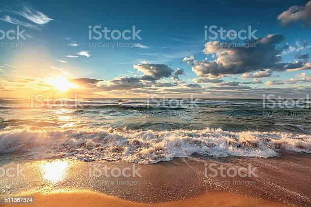 Photo of Beautiful cloudscape over the sea