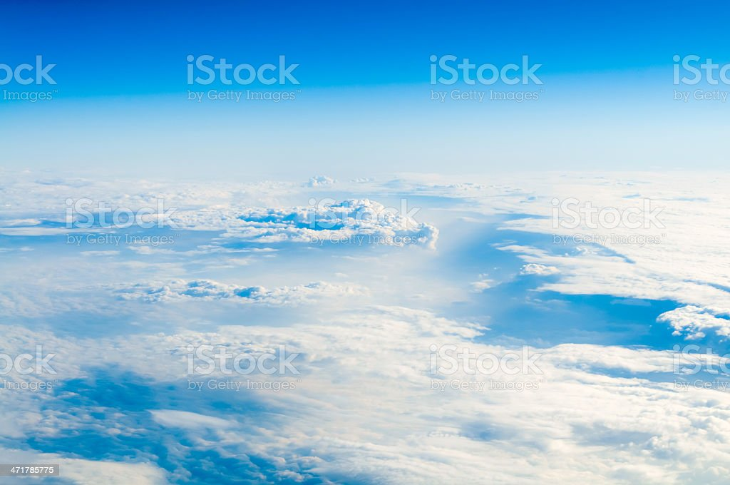 Beautiful cloudscape royalty-free stock photo