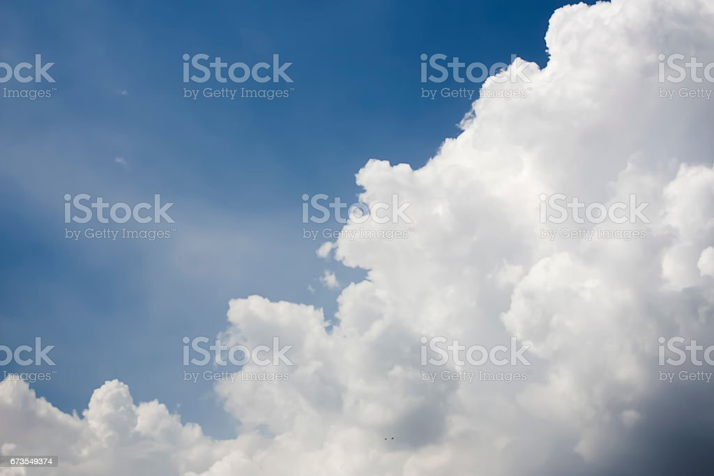 Beautiful Cloudy sky background. royalty-free stock photo