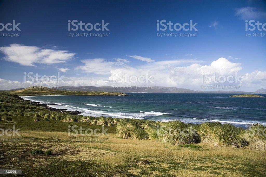 Beautiful Coast View stock photo