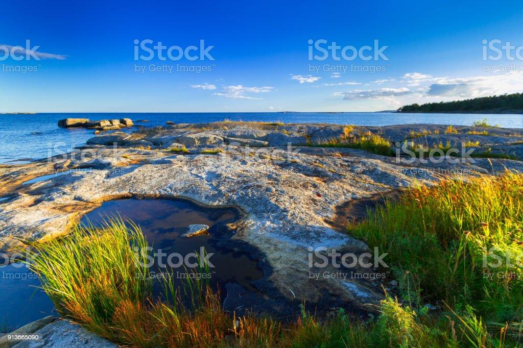 Beautiful coastline of Baltic sea – zdjęcie