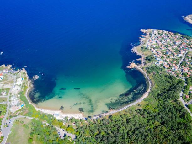 Wunderschöne Küste am Schwarzen Meer im Sommer – Foto