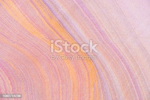 istock Beautiful color abstract background. Pastel colorful of pink purple and blue on stone texture. Contemporary art. - Illustration 1092715236