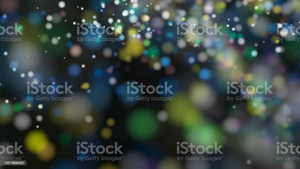 Schöne bunte Bokeh unscharf Hintergrund unscharf gestellt Lichter – Foto