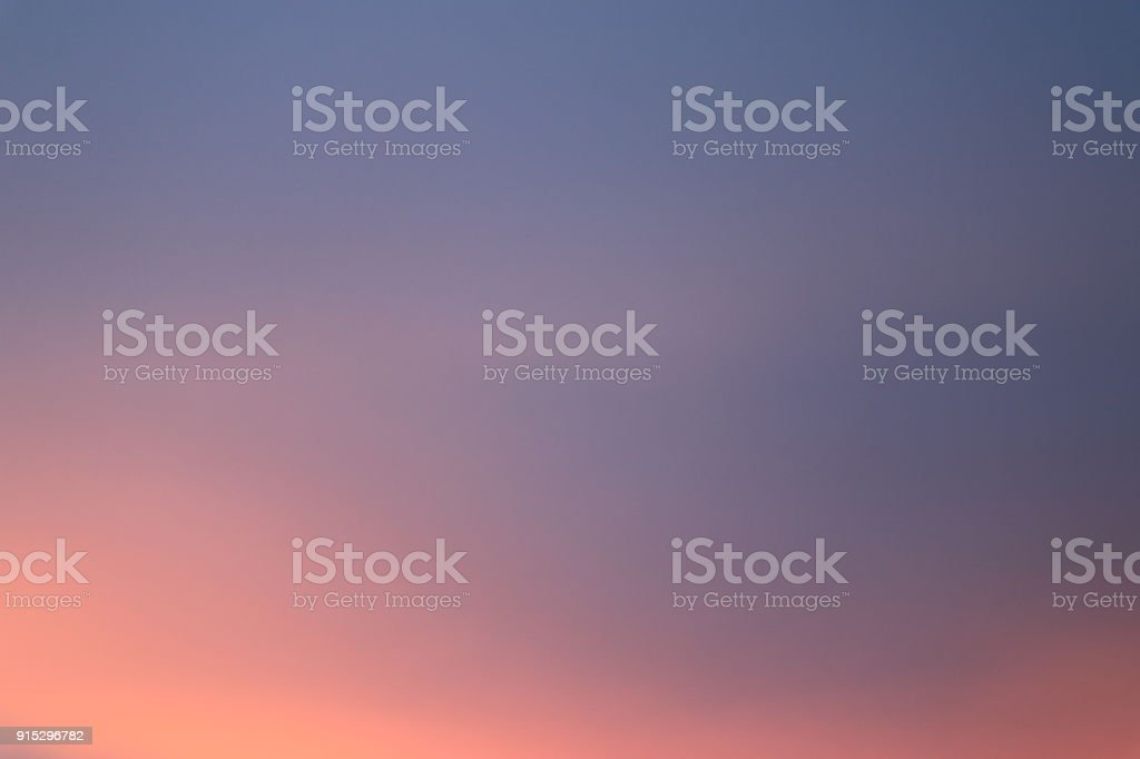 Beautiful colorful sky and cloud before sunset stock photo