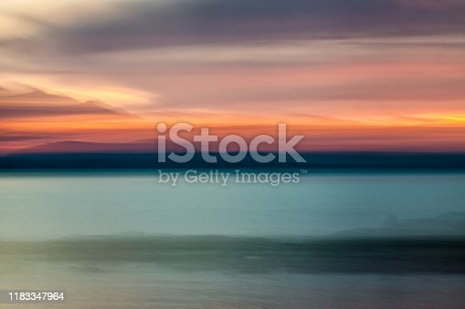 istock Beautiful colors of the end of the day 1183347964
