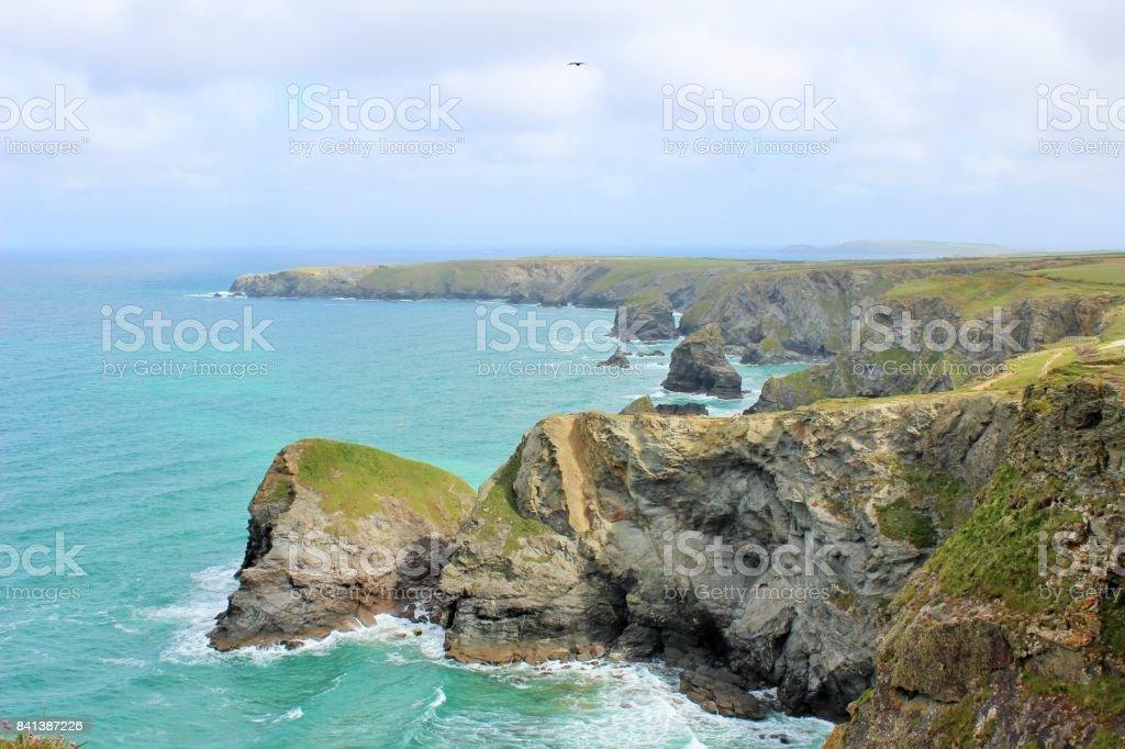 Beautiful Cornwall stock photo