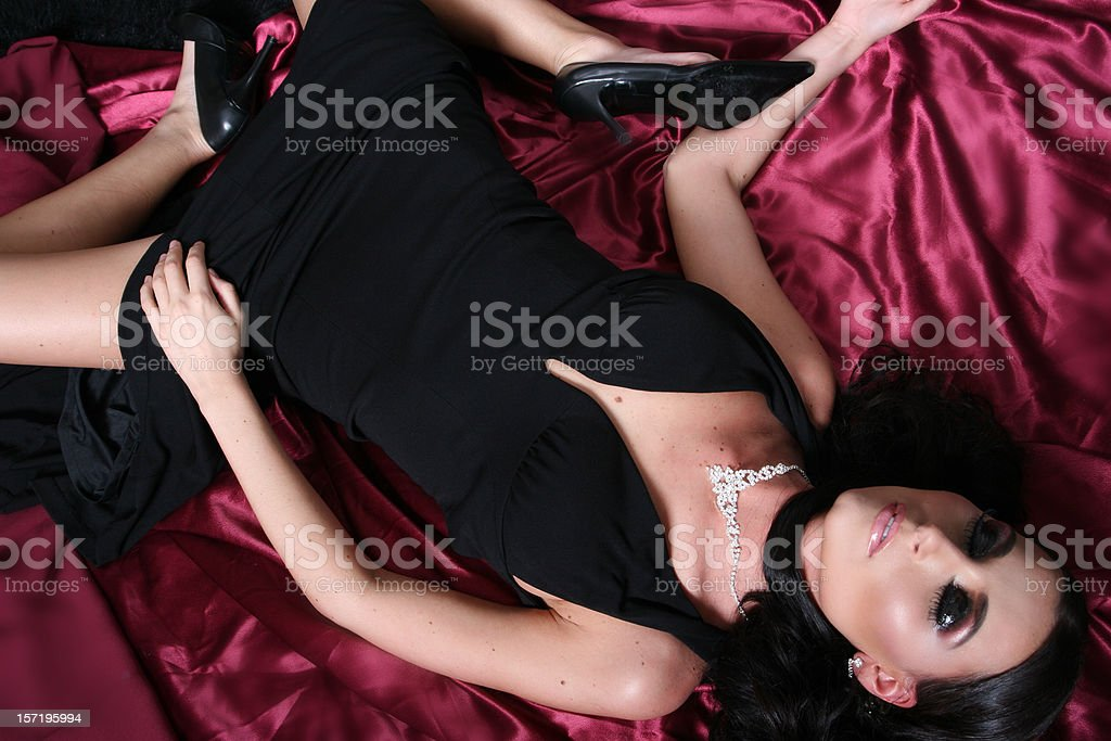 Beautiful Corpse royalty-free stock photo