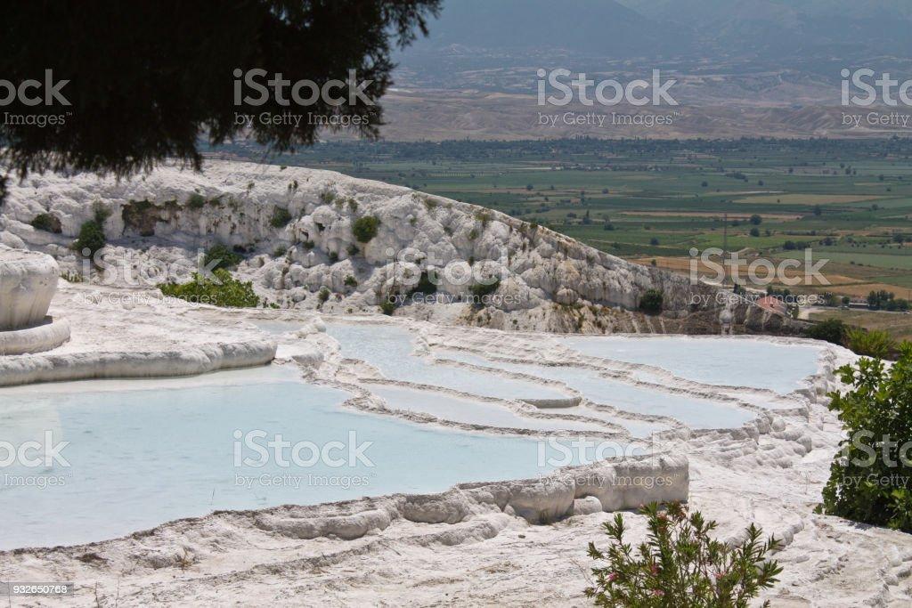 Ressorts De Piscine Naturelle Beau Coton Chateau Pamukkale Turquie