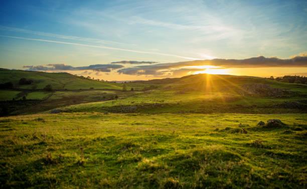Schöne Landschaft im Norden Englands – Foto