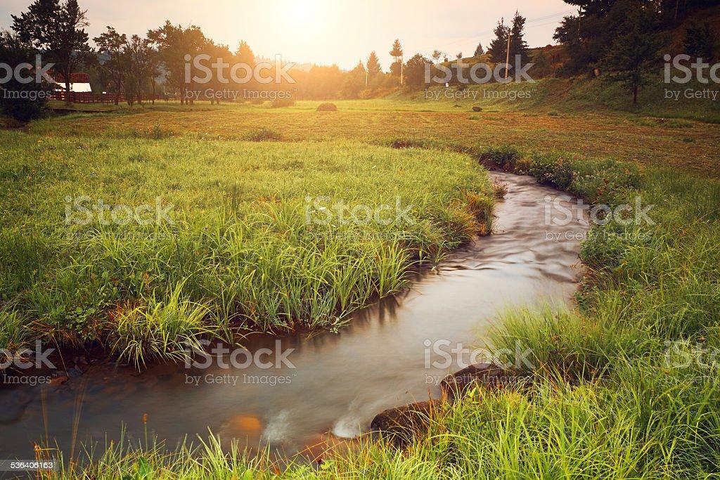 Wunderschöne Landschaft – Foto