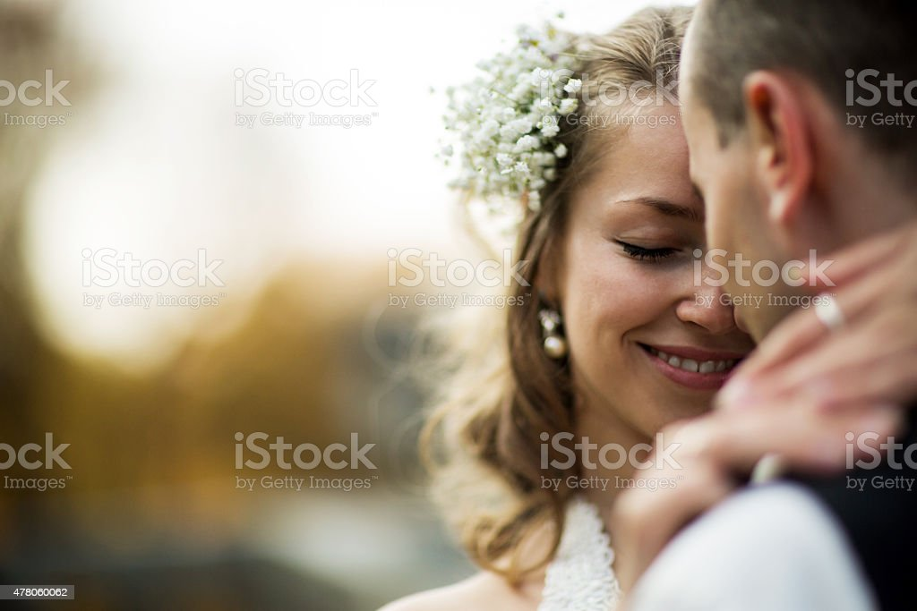 beautiful couple stock photo