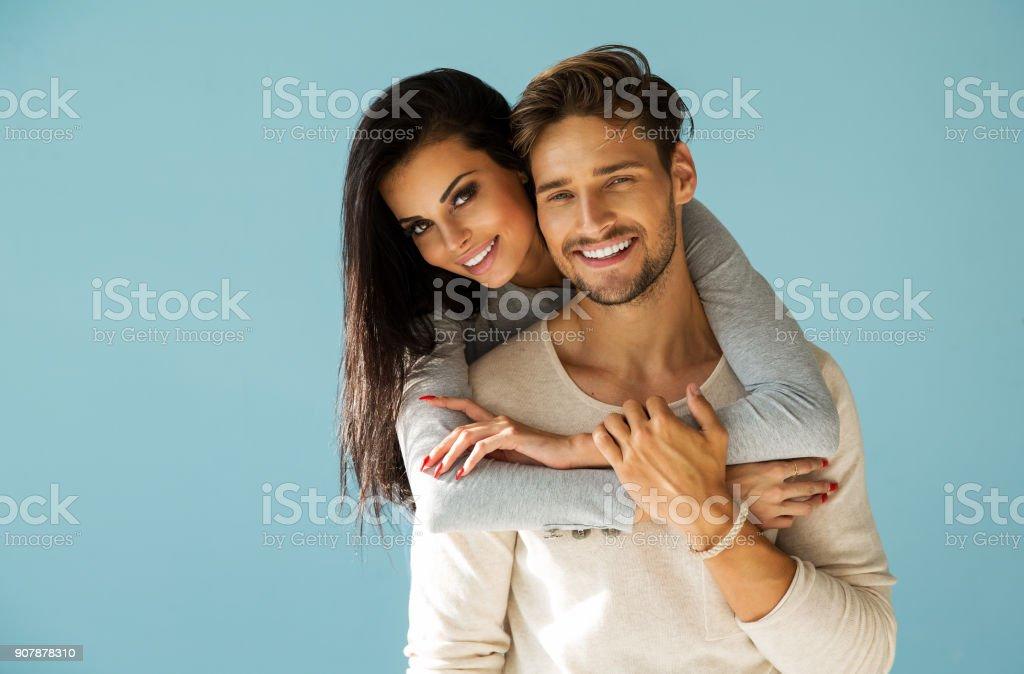 美しいカップル  ストックフォト