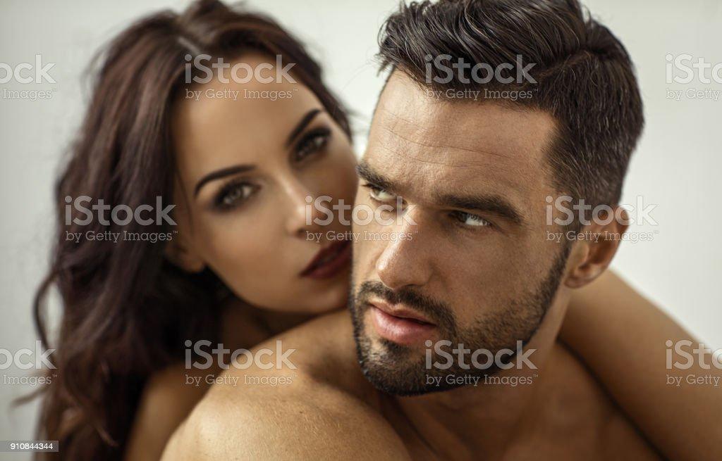 Hermosa pareja  foto de stock libre de derechos