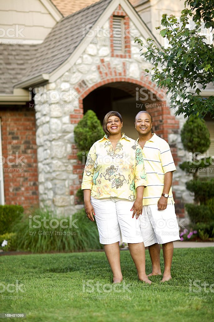 Beautiful Couple Portrait stock photo