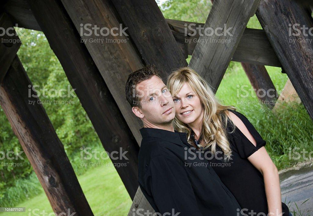 Beautiful Couple Series royalty-free stock photo