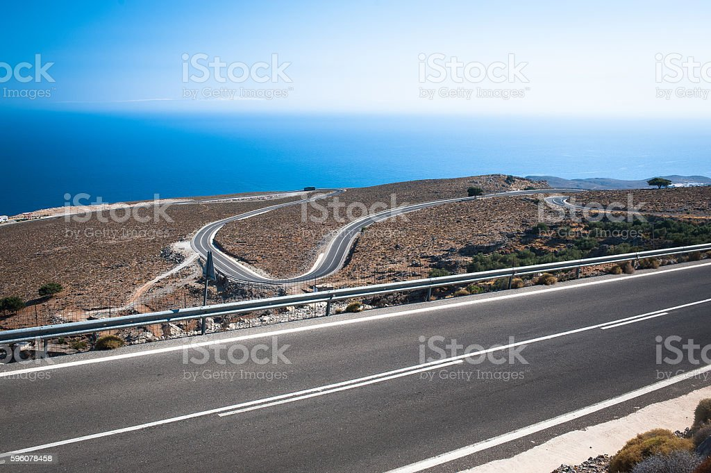 Beautiful Crete royalty-free stock photo
