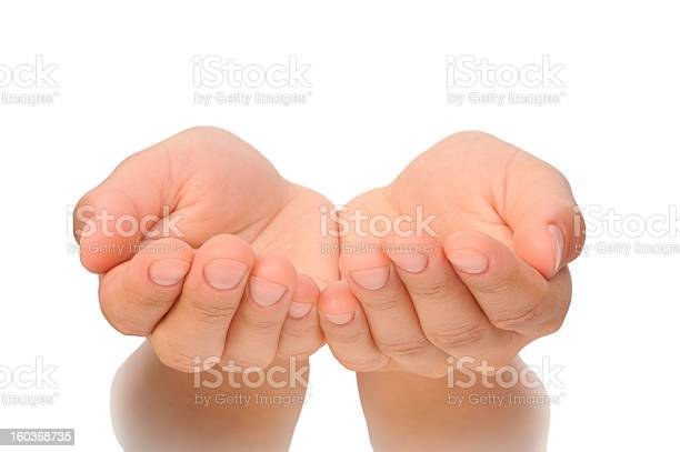 Beautiful cupped hands of young woman cut out picture id160368735?b=1&k=6&m=160368735&s=612x612&h=jo8ifcofhhltjcobftneae8bcf99m5 crnhurmpk he=