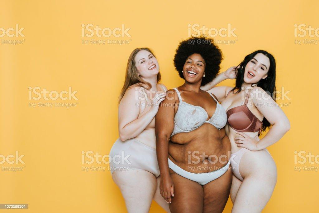 Nude girl in gang