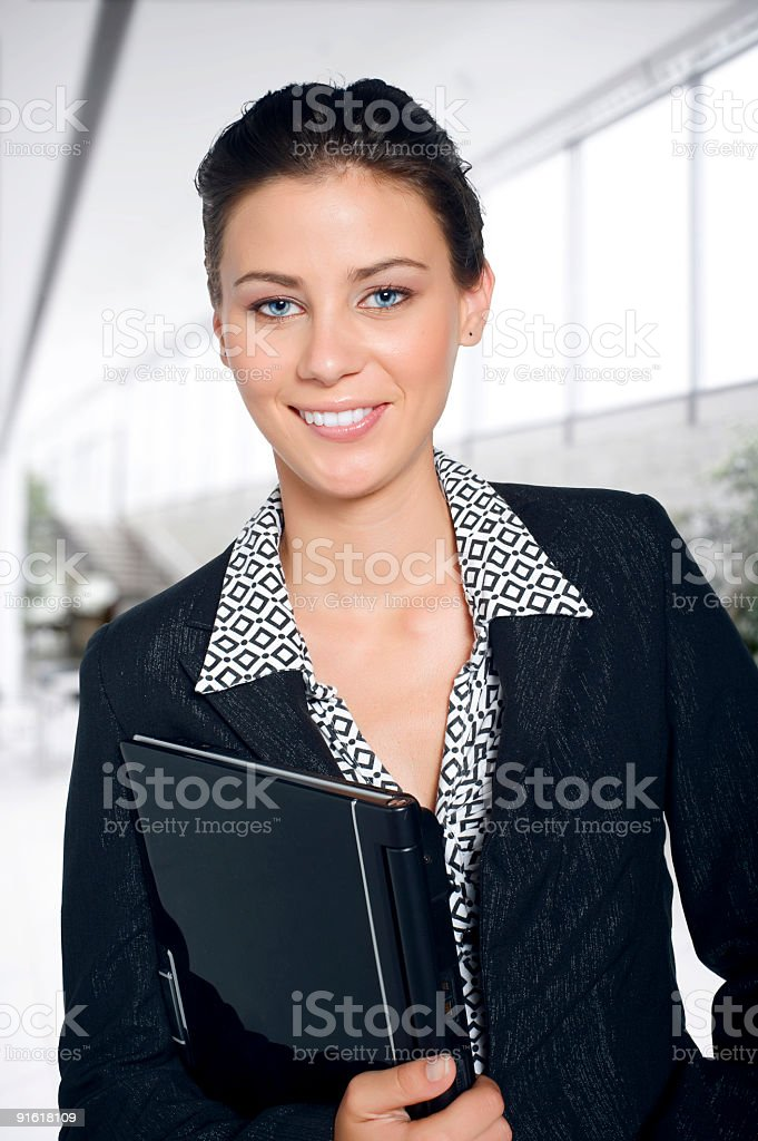 Beautiful customer stock photo