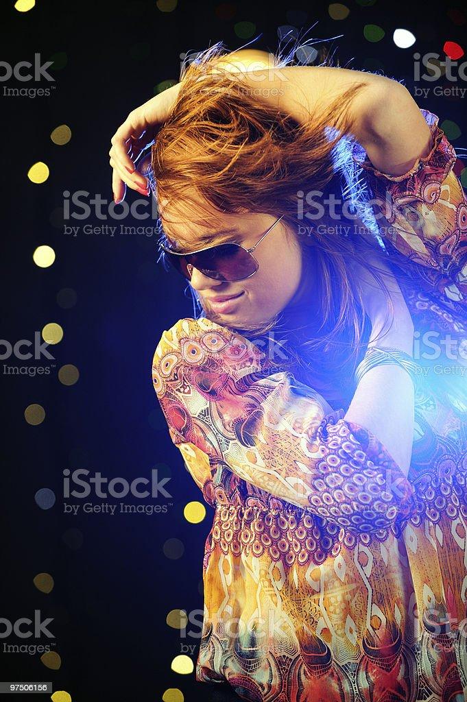 Beautiful Dancer royalty-free stock photo