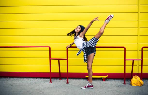 Schöne Tanz Mädchen – Foto