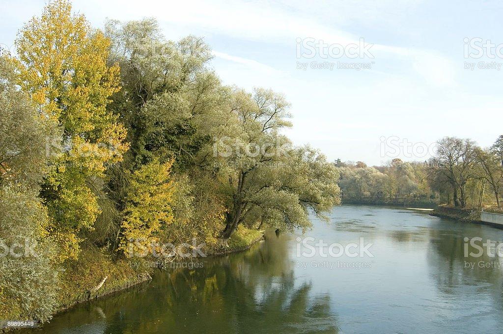 Beautiful Danube royalty-free stock photo