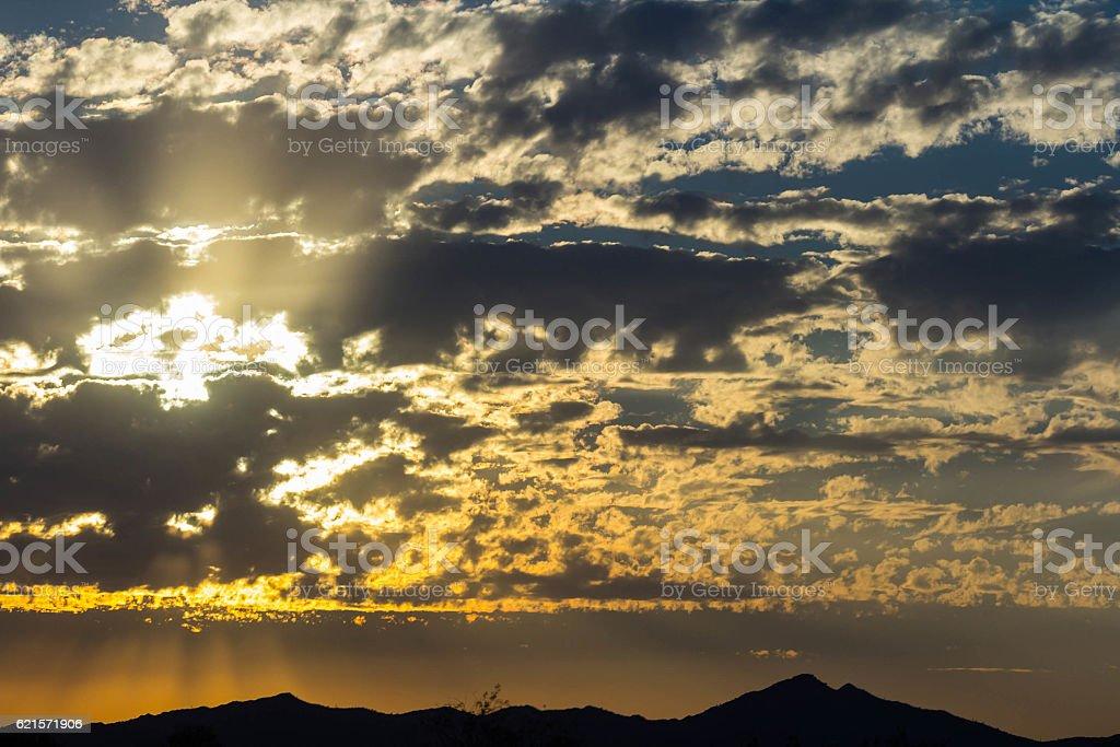 Magnifique l'aube photo libre de droits