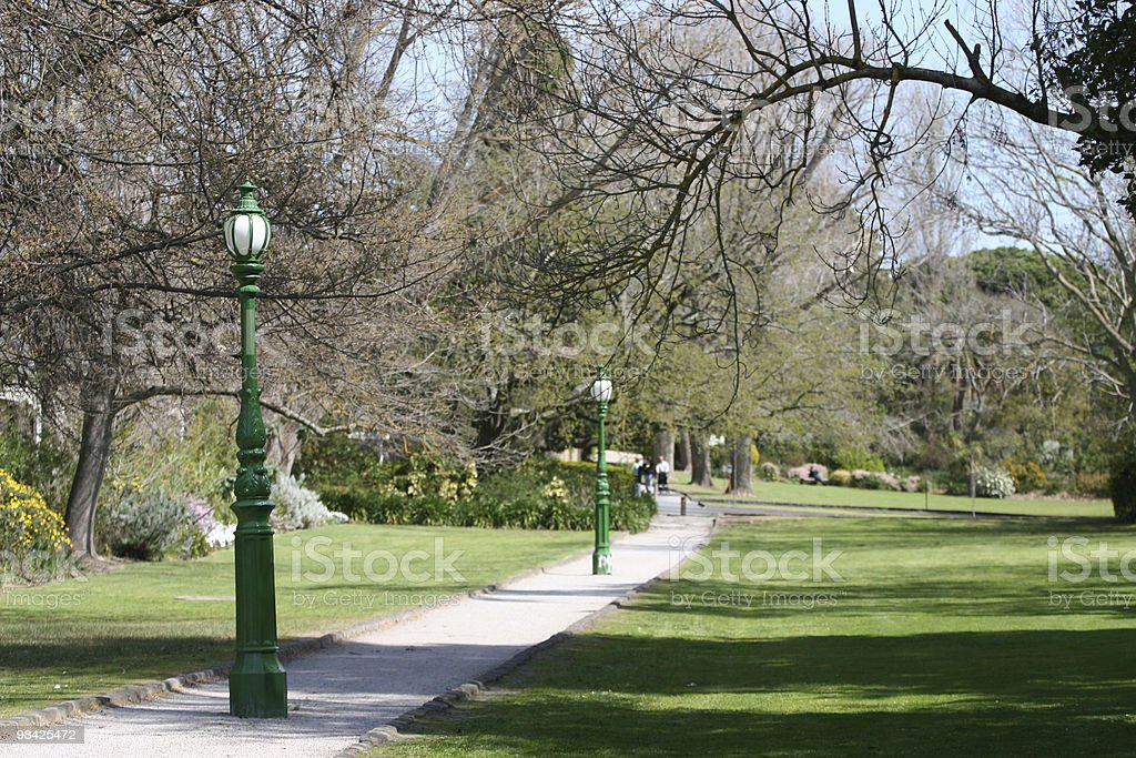 Beautiful day at the Park royalty-free stock photo