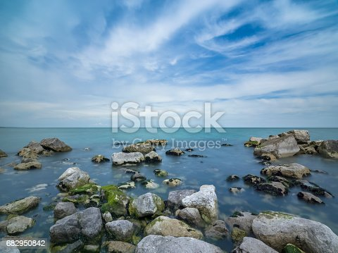 istock A beautiful day off the coast of Italy 682950842