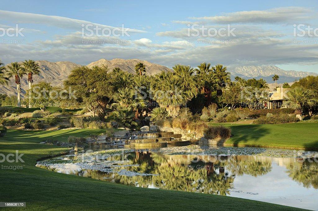 beautiful day to golf stock photo