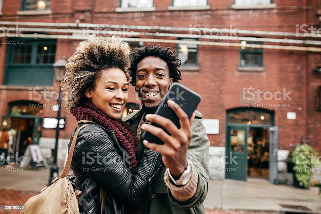 Beautiful day together stock photo
