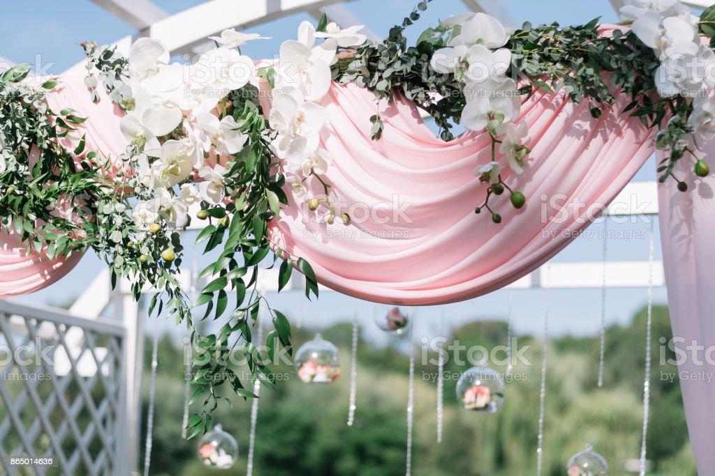 Schone Dekoration Fur Sommerhochzeit Im Freien Hochzeitbogen Aus
