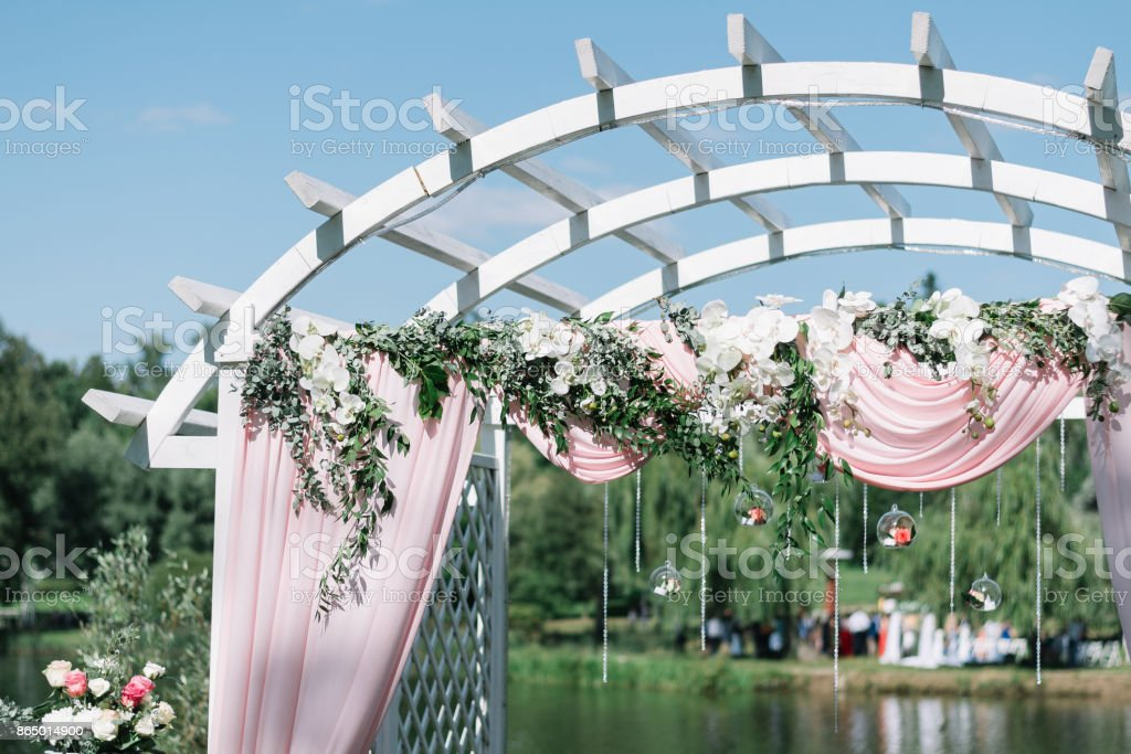 Beautiful Decoration For Summer Wedding Ceremony Outdoors Wedding