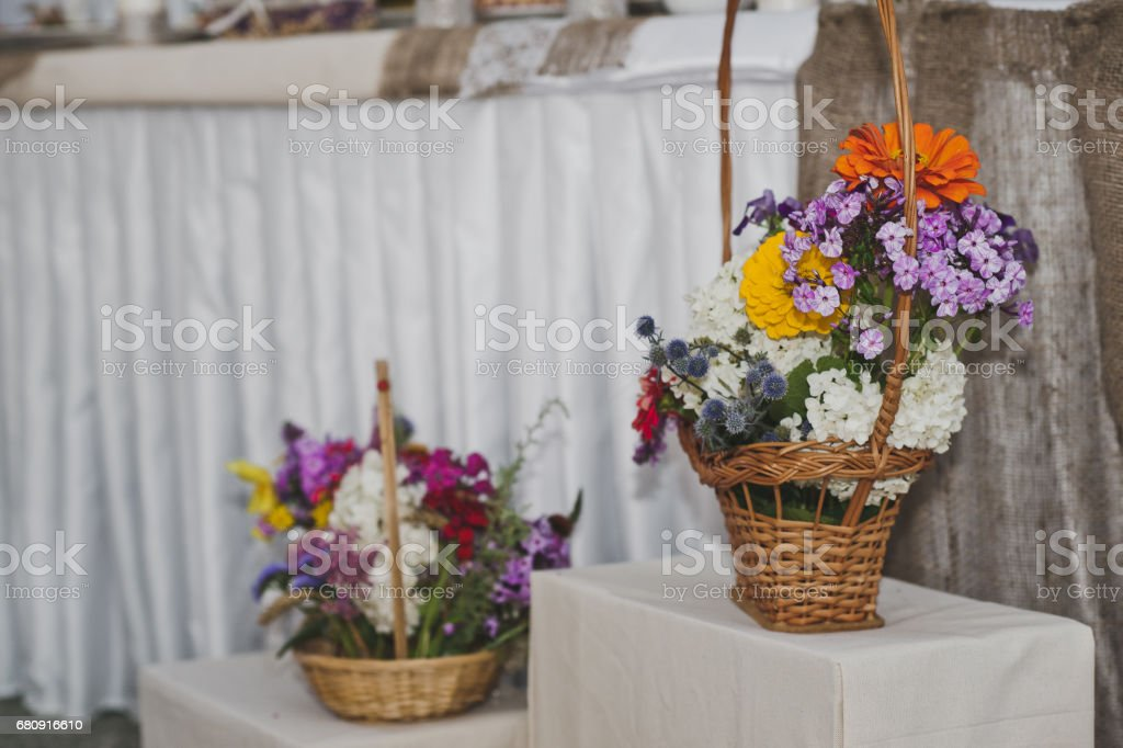 Beautiful decorations of the holiday table 5065. royalty-free stock photo