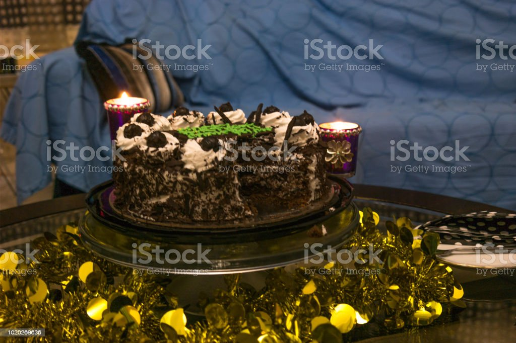 A Beautiful Delicious Chocolate Birthday Cake